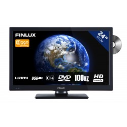 24 inch (61 cm) LED TV-DVD Combi